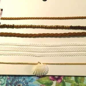 Jewelry - New Set of 5 Choker Necklaces